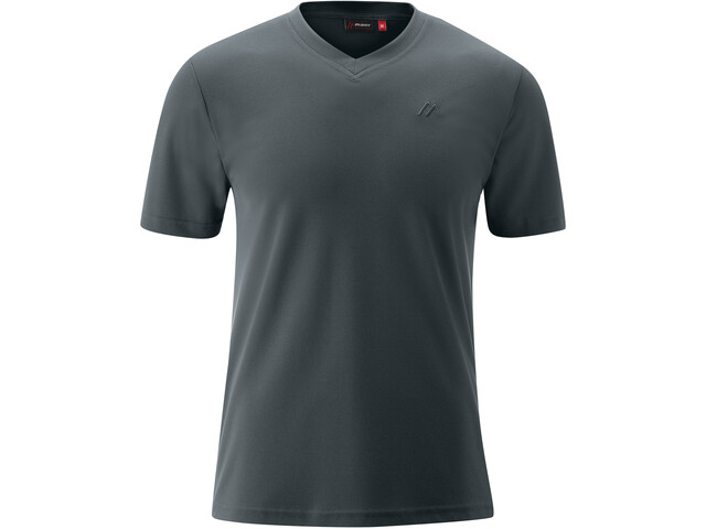 Maier Sports Wali SS Shirt Men graphite